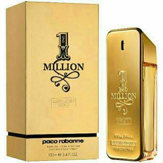 PERFUME ONE MILLION ABSOLUTELY GOLD EAU DE PARFUM 100ML 3.4 FL. OZ