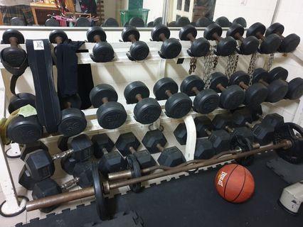 Dumbell set 2.5kg-25kg