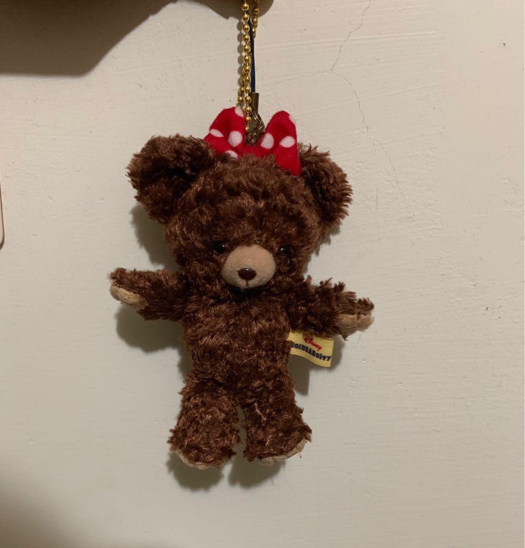 迪士尼 學院熊 吊飾 娃娃