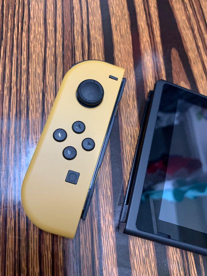 任天堂 Nintendo Switch NS特別版 主機+架+手製+精靈球