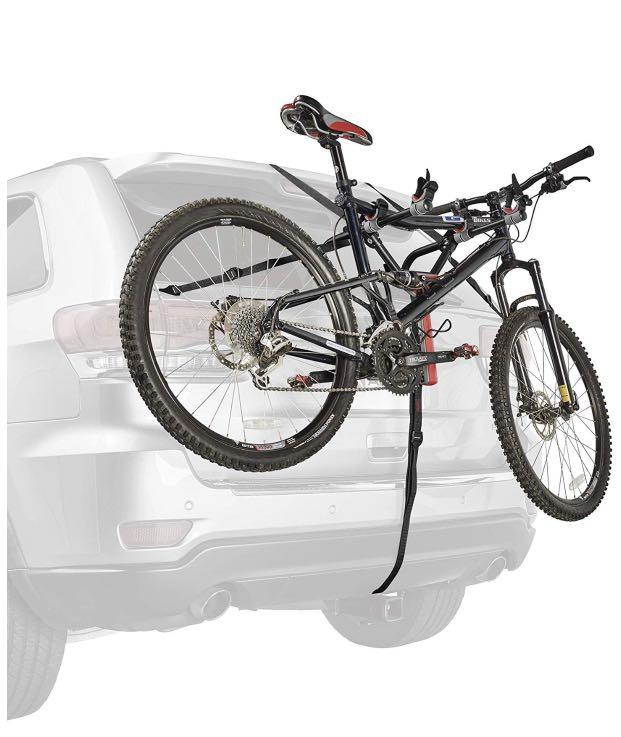 Used Black Allen Sports Adjustable Ultra Compact Trunk Mounted 2 Bike Rack