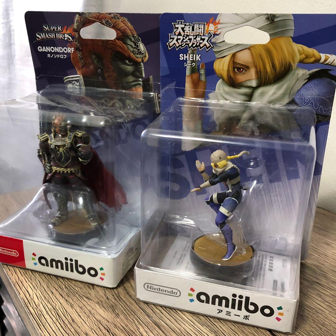Amiibo Ganondorf And Shiek On Carousell
