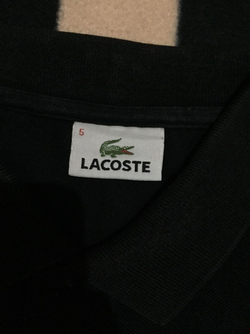 Authentic lacoste slim fit poloshirt