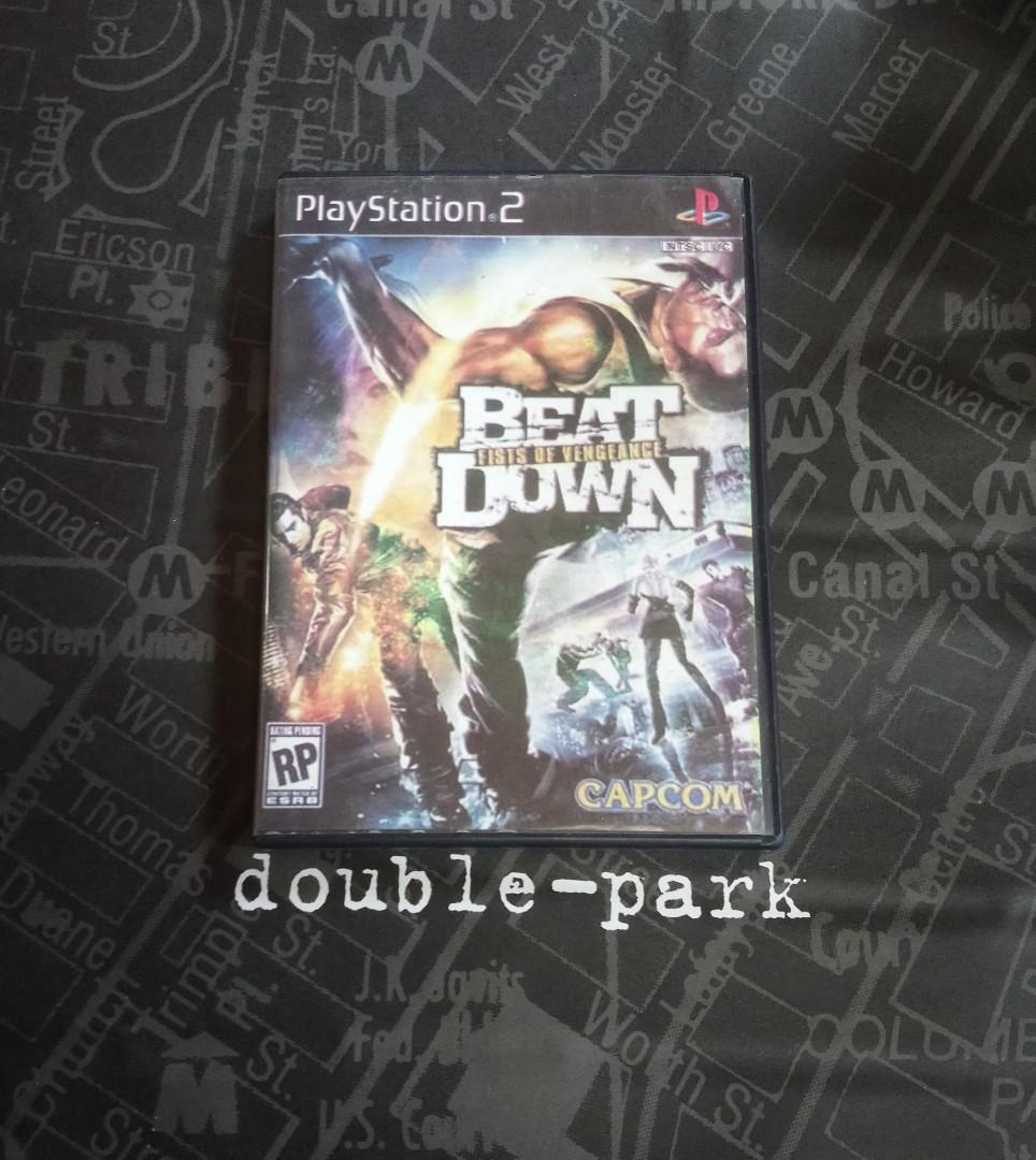 BEAT DOWN <PS2 GAME > (改機碟)