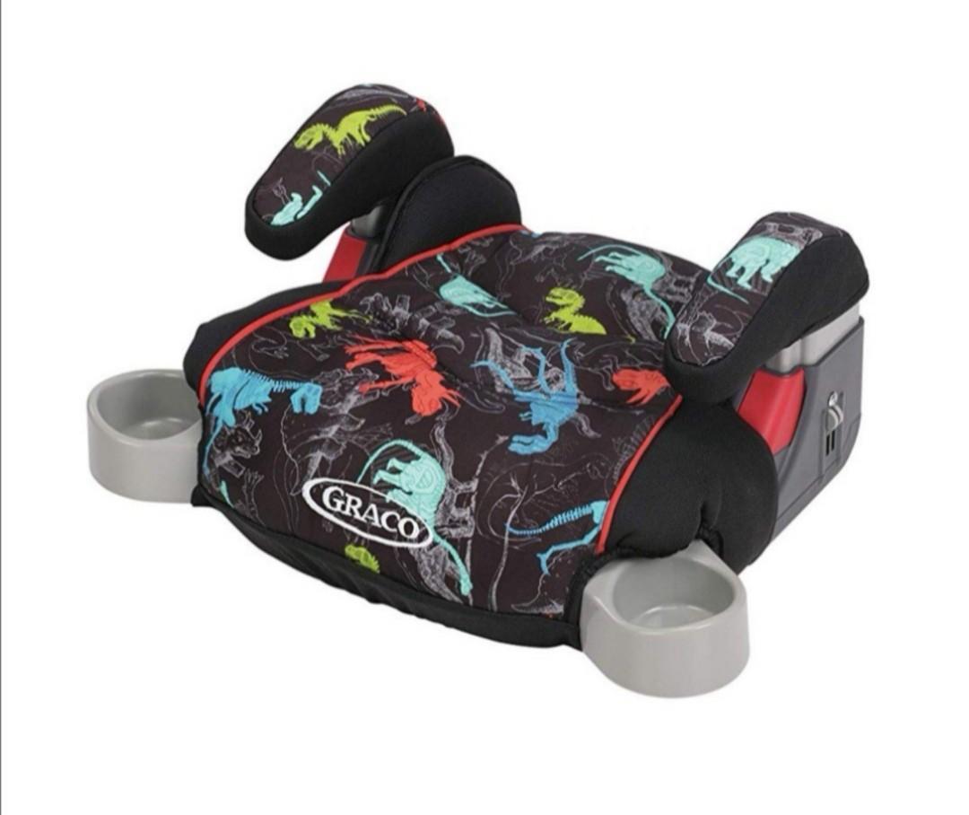 Dino Car Seat >> Bnib Graco Booster Car Seat Dino On Carousell