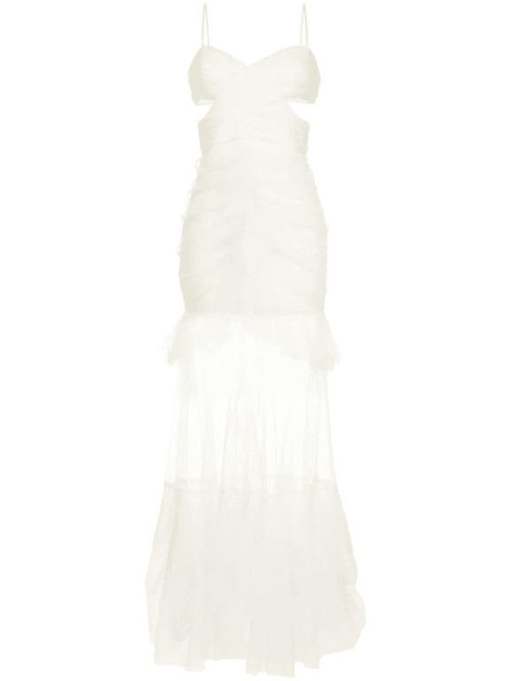 BNWT ALICE MCCALL PORCELAIN THE ONLY EXCEPTION GOWN - SIZE 4 AU/0 US (RRP $790)
