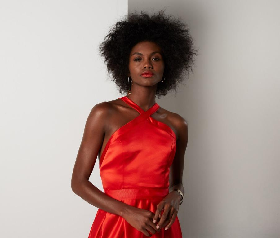 BNWT FAME & PARTNERS RED ROSEMARY DRESS - SIZE 6 AU (RRP $399)