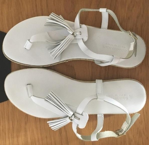 Brand New Country Road Lucy Tassel sandals RRP $80