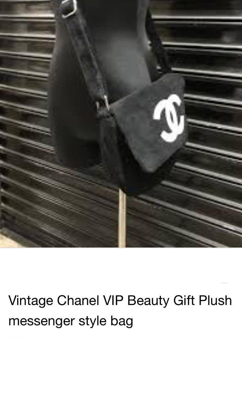 Chanel Fur Sling Bag