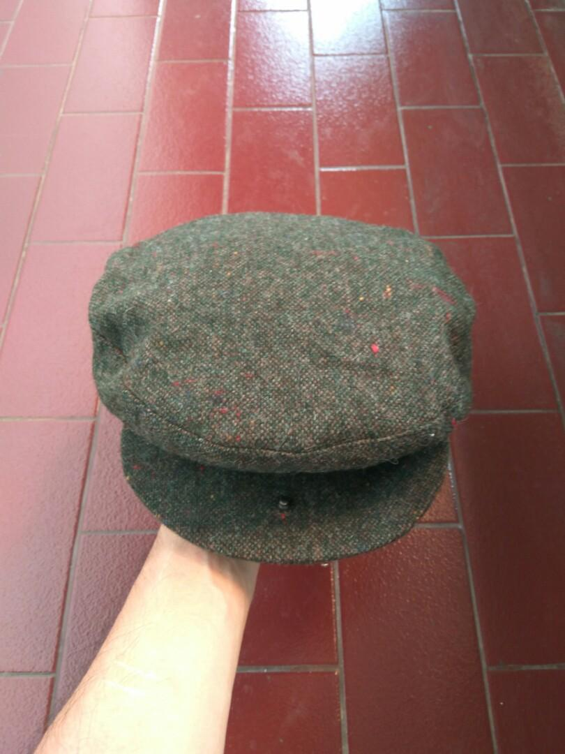 #ChopeCarousell Vtg Flat Cap GOLF and GREEN