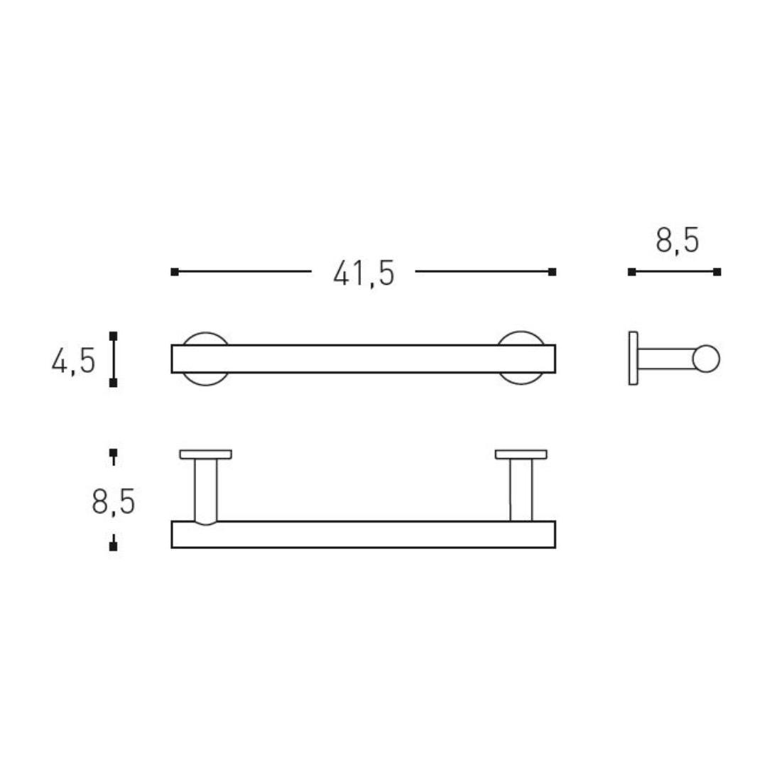 Cosmic Architect Towel Rail 415mm