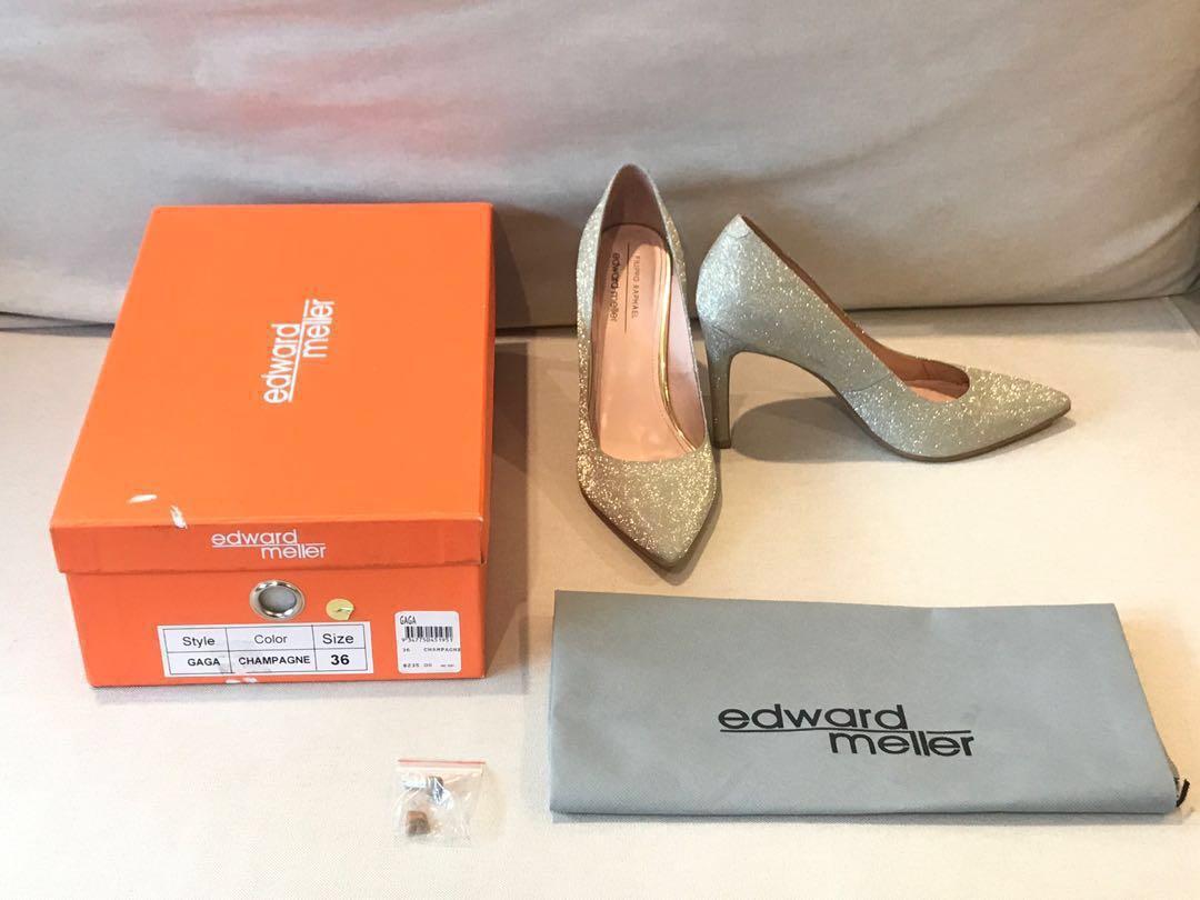 Edward MellerSparkly Heels/Pumps Size 6 (Used Once)