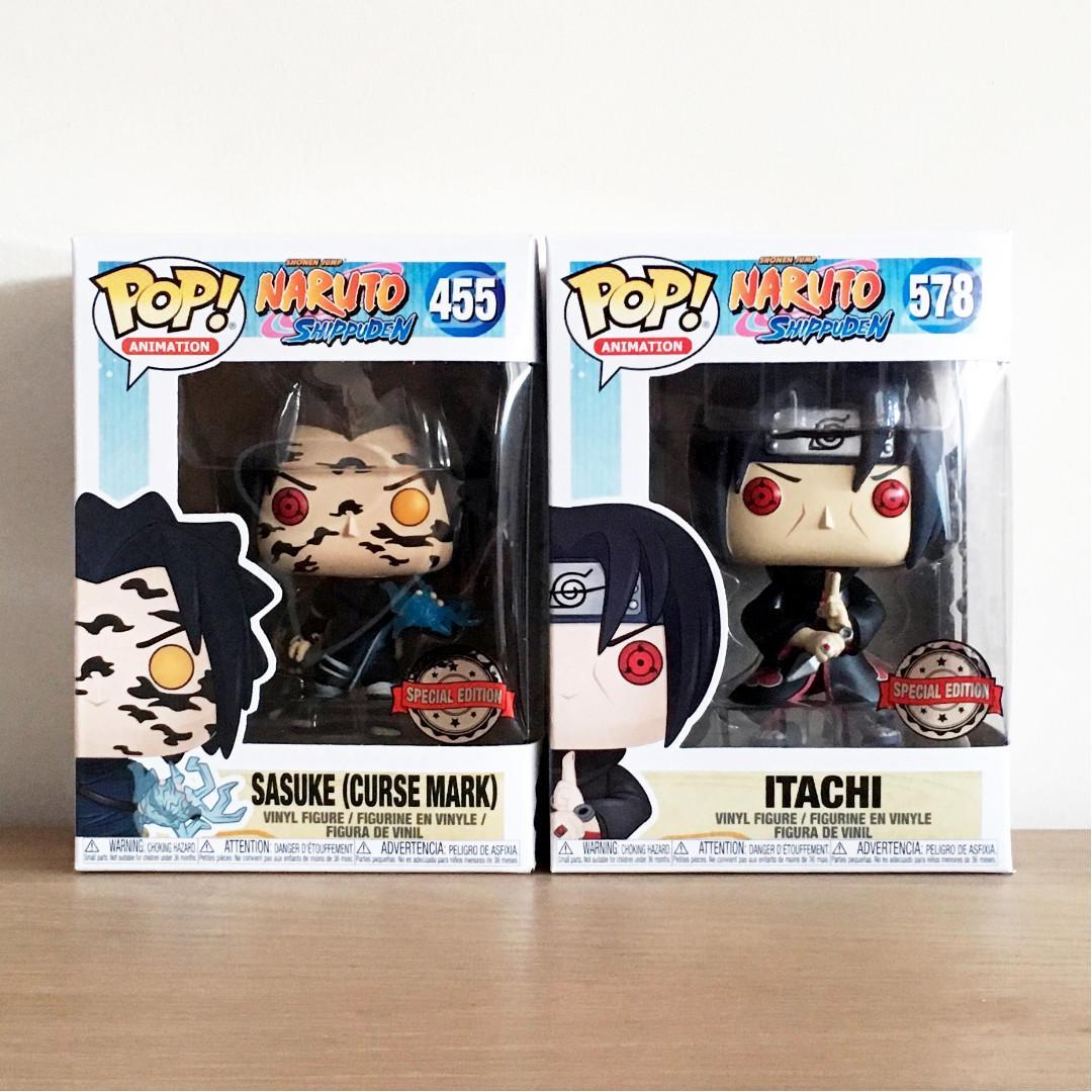 funko pop naruto shippuden itachi special edition sasuke