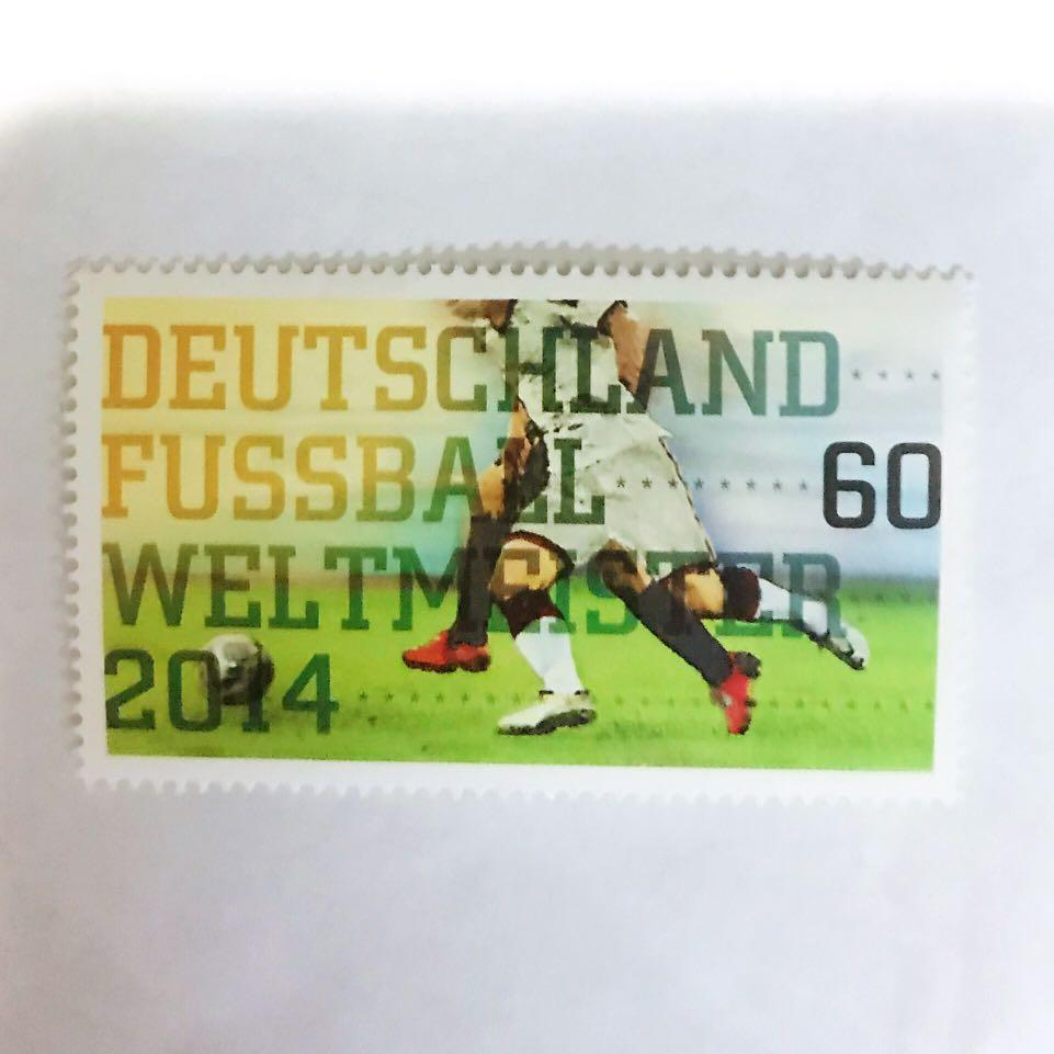 German Football World Cup 2014 Stamp (Special Edition)