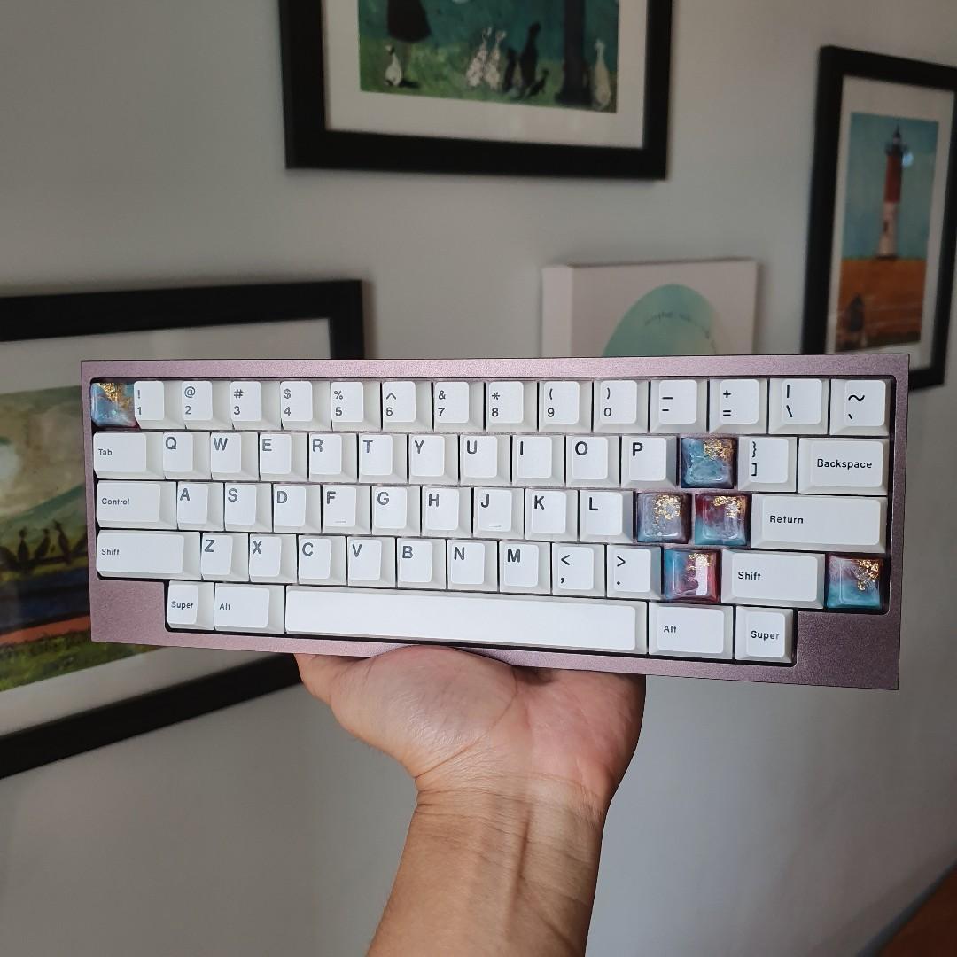 Kbdfans Tofu Hhkb Mechanical Keyboard Kit Hotswap Pcb Solder