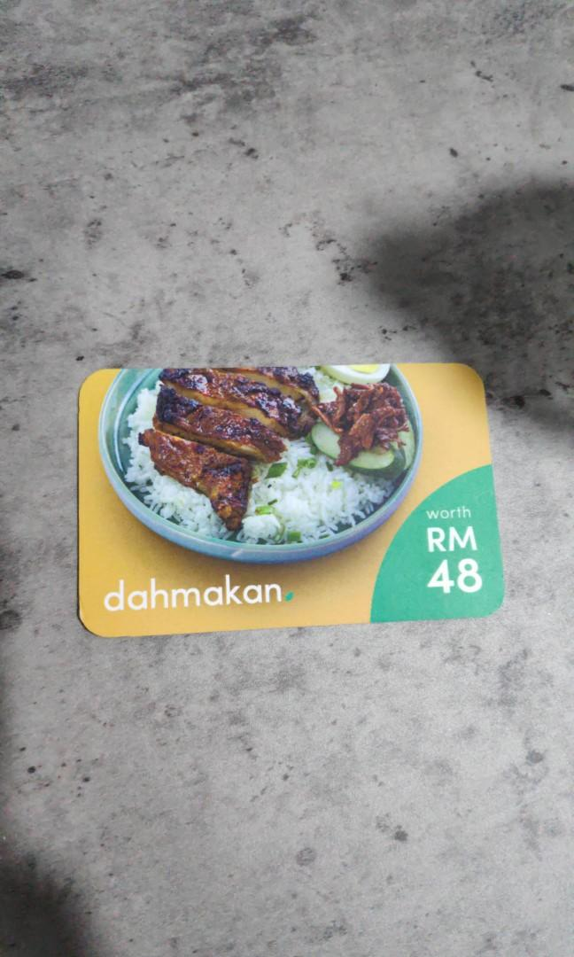 Limited!! RM20 for RM48 Dahmakan credit