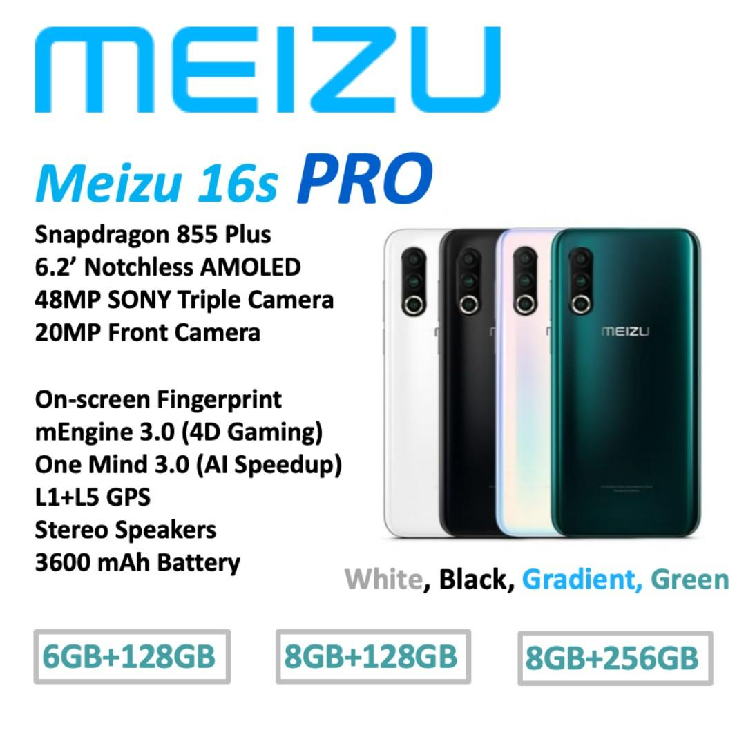 Meizu 16s PRO Brand New in Box China set