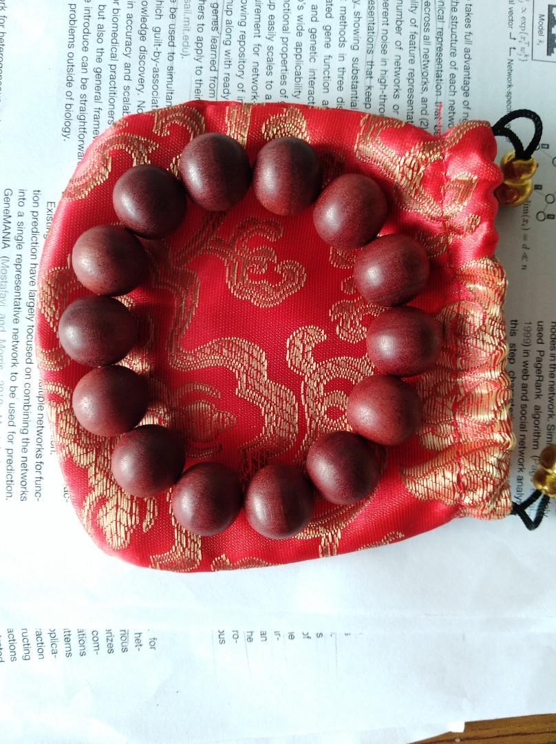 Nagasari (龍珠手串 Dragon Pearl) bracelet rare 16mm
