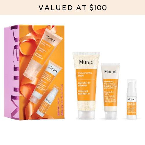 NEW Murad Bright Away Gift Set (Limited Edition) - Valued at over $100