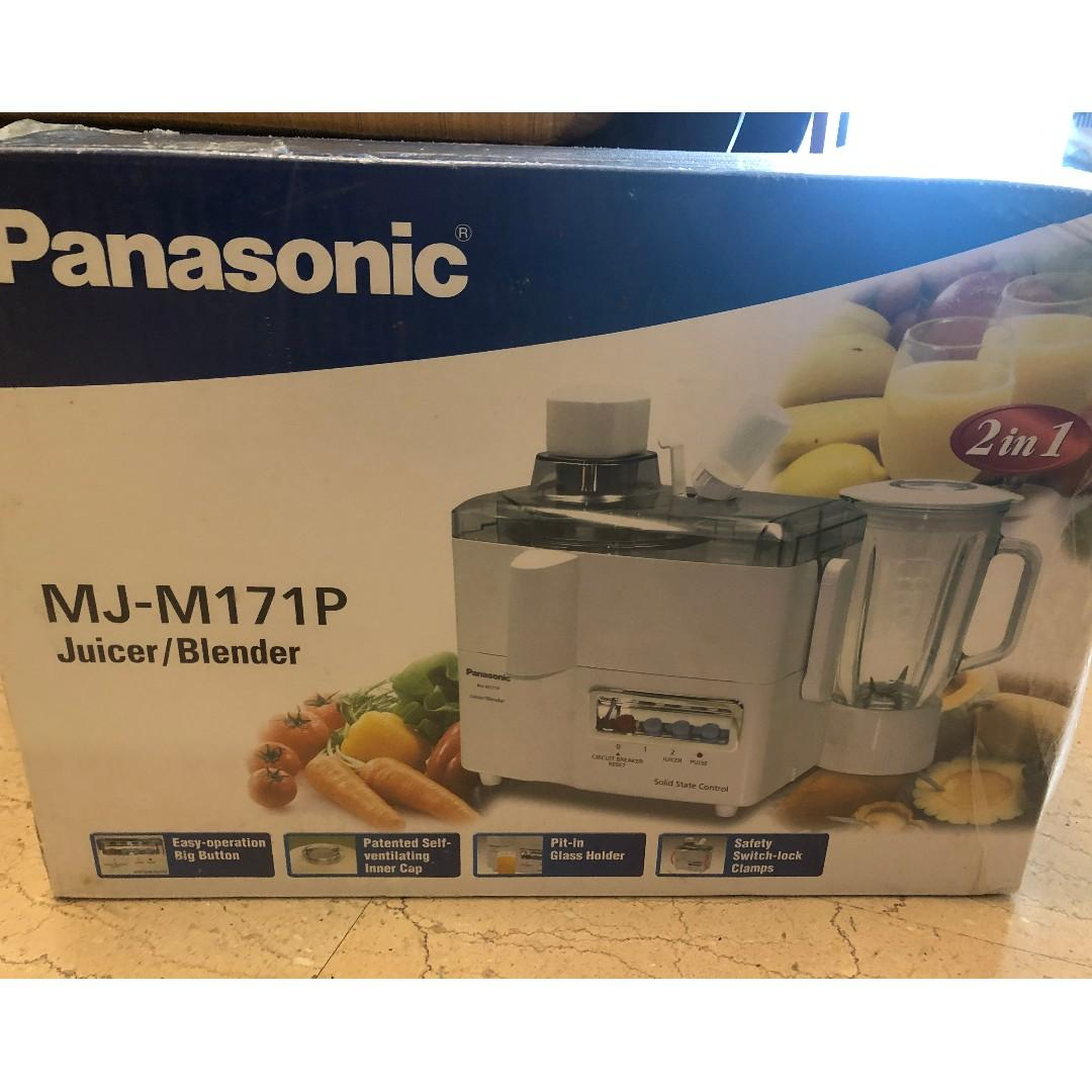 New Panasonic blender/juicer available