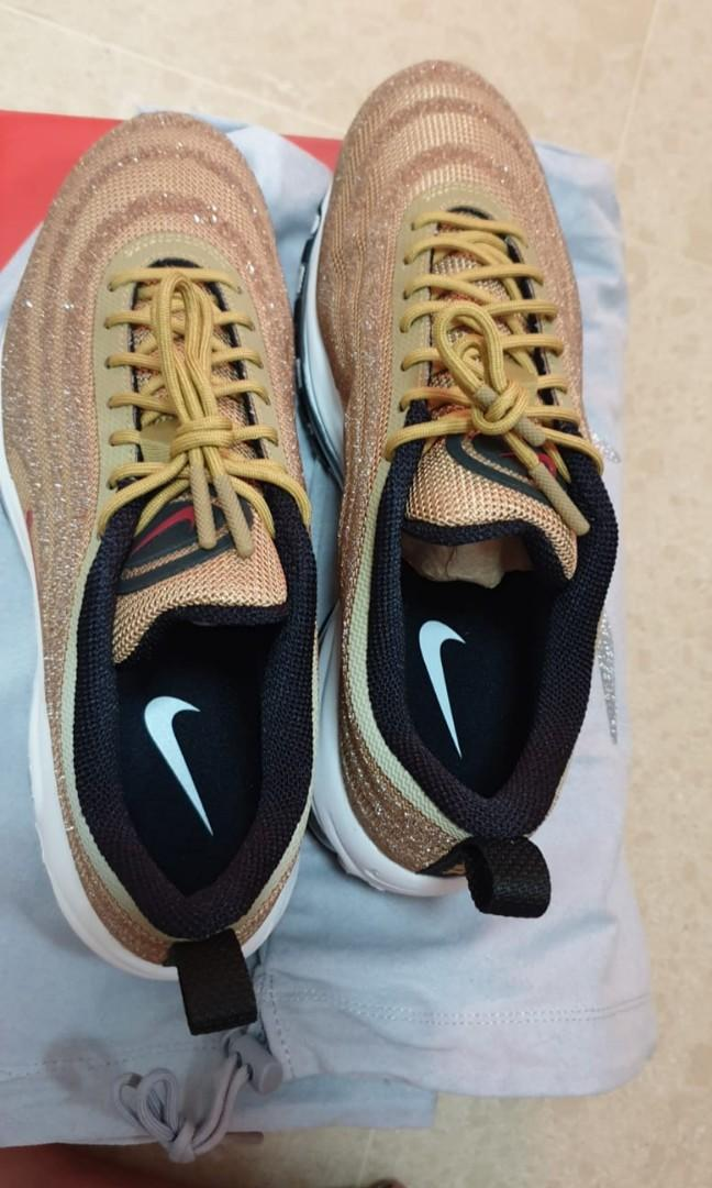 Nike Air Max 97 LXX Swavorski Gold Limited Edition Sneakers