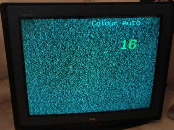 Old School JVC Television