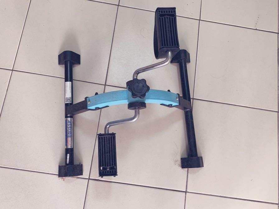 Pedal exerciser (adjustable resistance)