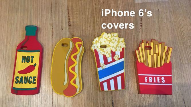 PHONE COVER FOR IPHONE 5 & 6 FOR $1 EACH