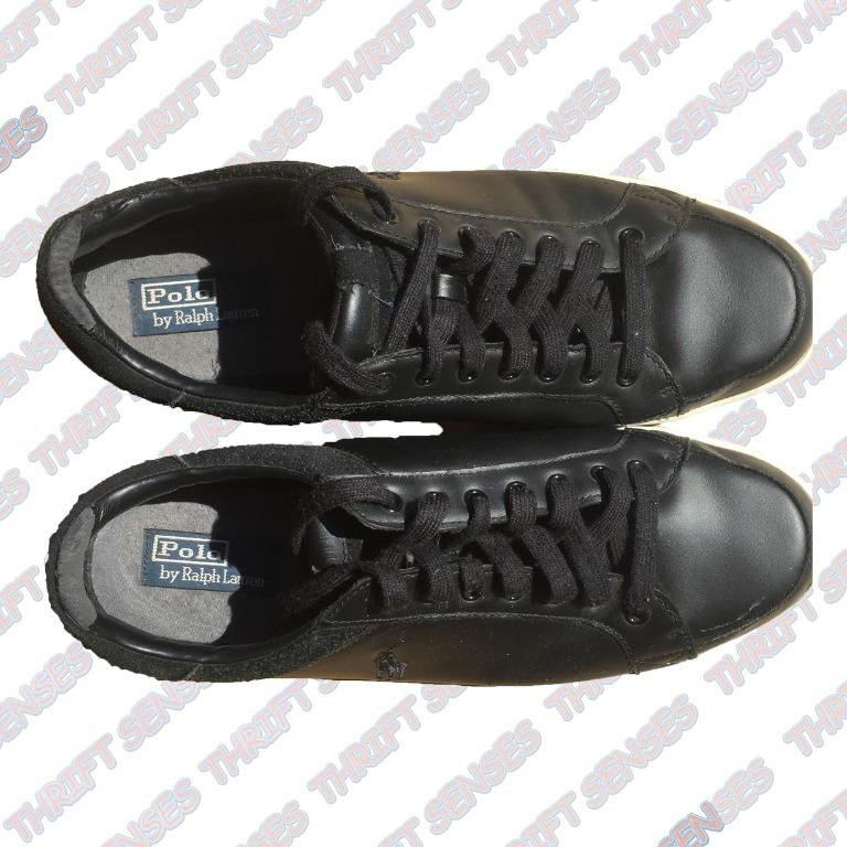 Polo Ralph Lauren Talbert Mens Court Leather Shoes