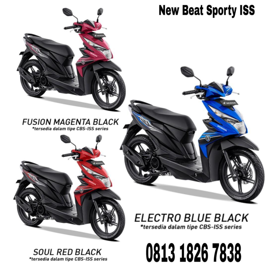 Promo Honda Beat Sporty CBS_IS