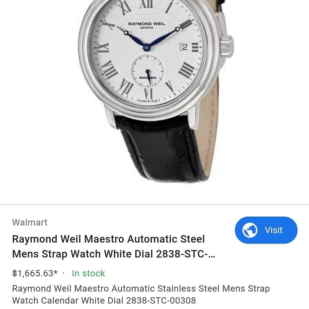 Raymond Weil Maestro 2838