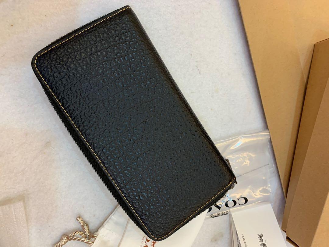 Ready Stock Authentic coach 12130 men purse wallet