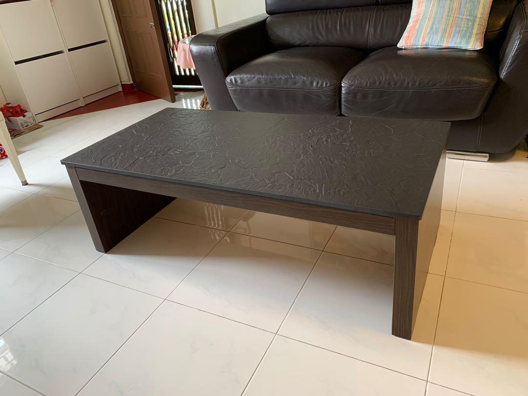 Slate Top Coffee Table - perfect for modern homes