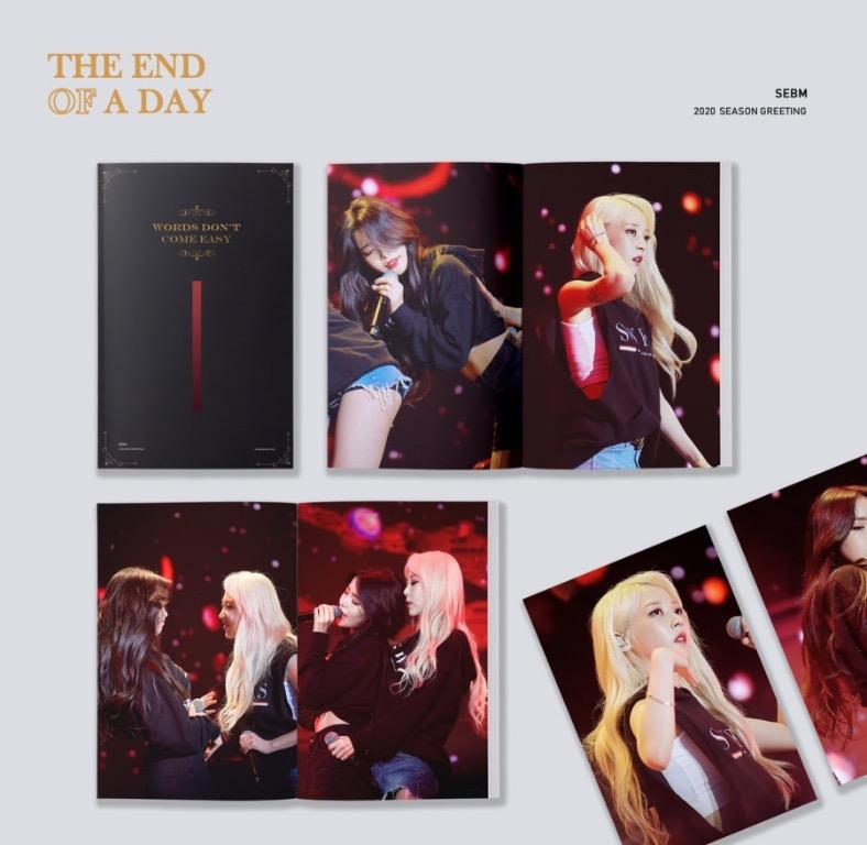 "SOLAR & MOONBYUL - SEBM 2020 Season Greeting ""THE END OF A DAY"" [20/9]"