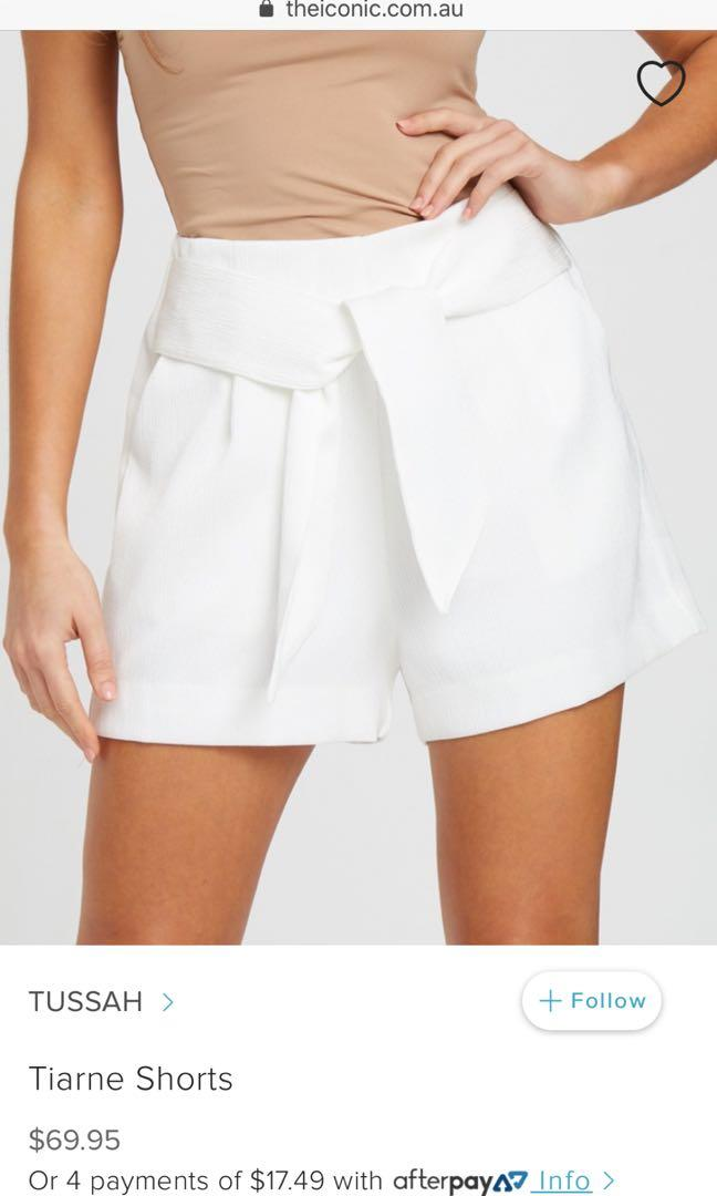 TUSSAH | White Shorts | Size 6 | NEW IN ORIGINAL PACKAGING!!