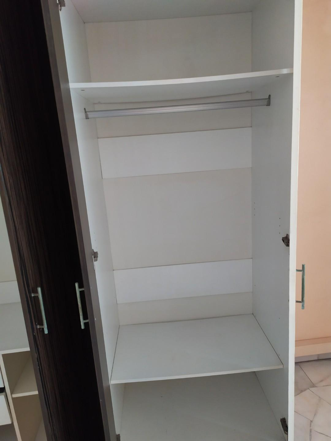Used 4 Doors Wardrobe