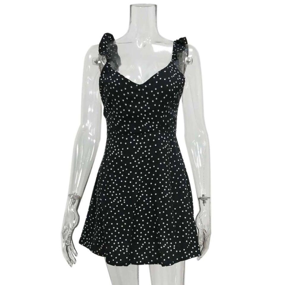 Vandely Polkadot Dress