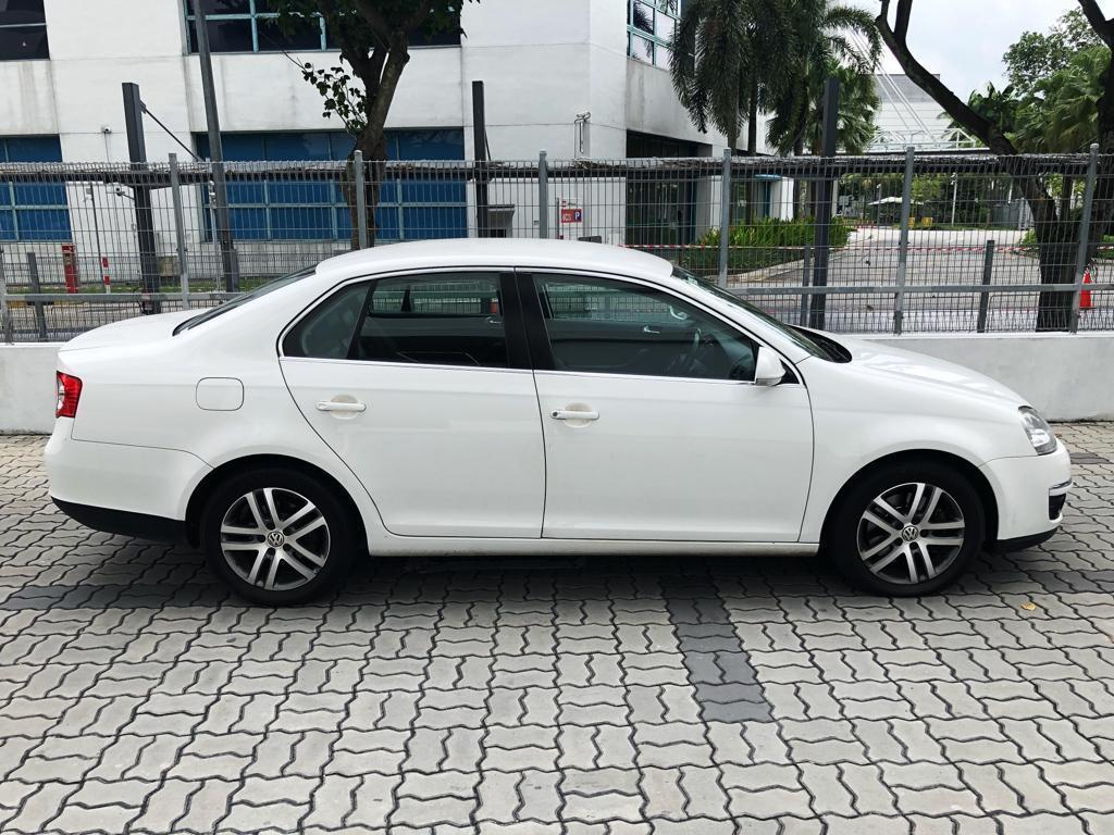 Volkswagen Jetta 1.4 CHEAPEST Car Rental for Grab GoJek Ryde or Personal Use