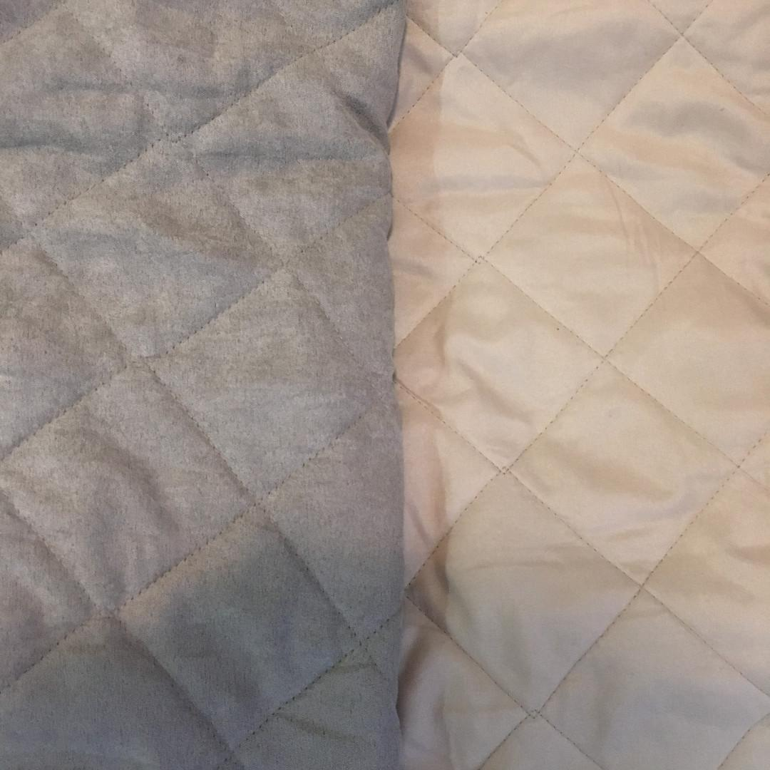 Water-resistant Quilted Reversible Love Seat Cover (Beige/Tan)
