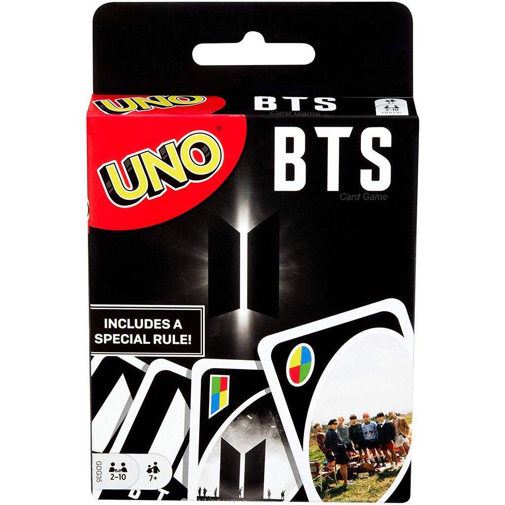 (WTS) BTS X UNO CARD MATTEL OFFICIAL