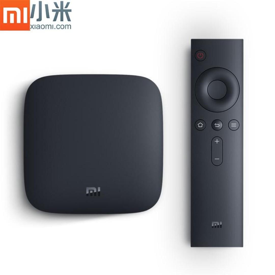 Mi BOX 3S Android TV OS 8.0, Xiaomi 4K TV Box (MDZ-19-AA)