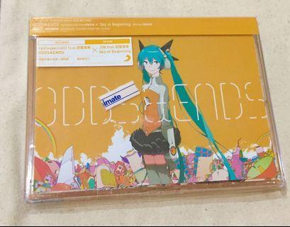 初音未來「ODDS&END/Sky of beginning 」台壓初回生產限定盤