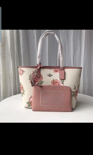 Limited edition Coach tote bags
