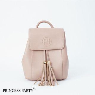 Princess Party鋼印抽繩流蘇後背包 R.B