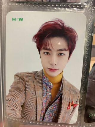 MONSTA X Hyungwon Photocard