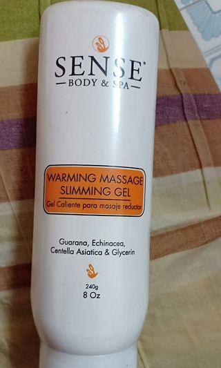 Sense® Body & Spa Warming Massage Slimming Gel