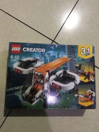 Mainan lego murah helikopter