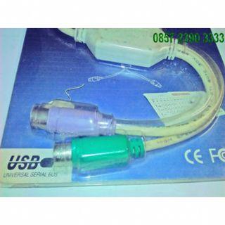 MURAH Kabel Usb To Ps/2 Untuk Kompi Anda YZ13536