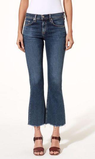 Rag & Bone Crop Flare Jeans Sz28