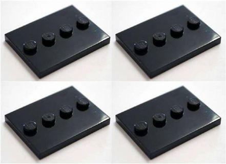 Lego black stand baseplate (35 unit)